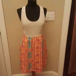 Lush dress sz medium open side and sleeveless NWOT